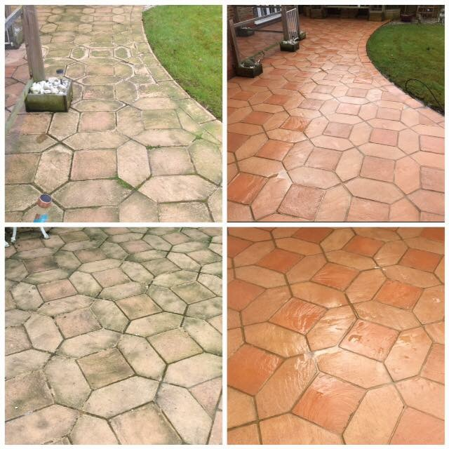 drive and patio cleaning